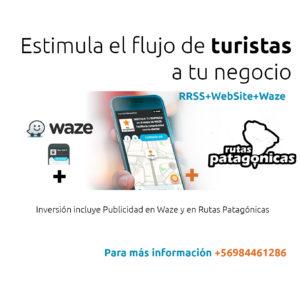 Rutas Patagónicas + Waze