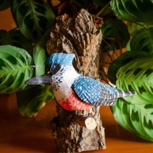 Réplica Pájaro Martín Pescador