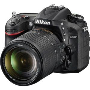 Camara Nikon D7200 kit 18-140mm VR