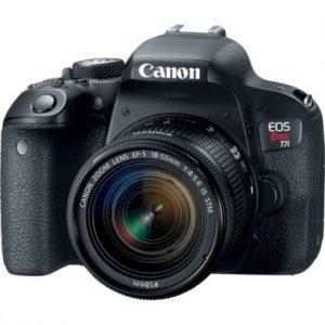 Camara Canon EOS T7i Kit 18-55 IS STM