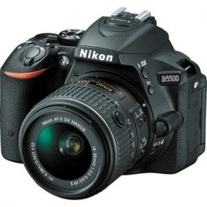 Camara Nikon D5500 kit 18-55mm f/3.5-5.6G VR II