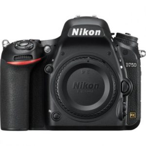 Cámara Nikon D750 Sólo cuerpo