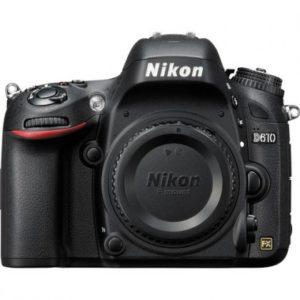 Cámara Nikon D610