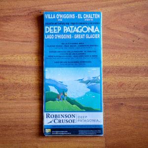 Mapa de Caminatas y Excursiones Deep Patagonia