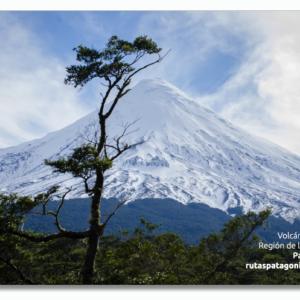 PACK 100 Postales Turísticas del Volcán Osorno