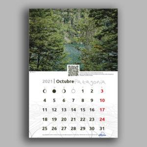 Calendario de Pared Patagonia 2021 Rutas Patagónicas