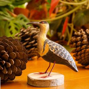 Réplica Pájaro Bandurria en pedestal