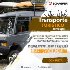 Plataforma Web Site Reserva Inteligente Transporte Turístico Terrestre