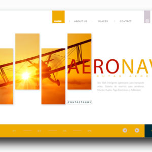 Plataforma Web Site Reserva Inteligente Transporte Turístico Aéreo
